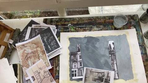 Thumbnail for entry Drawing, Painting and Collage: deconstruction and reconstruction