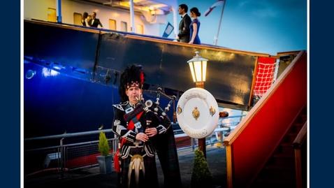 Thumbnail for entry Drinks Reception at Royal Yacht Britannia
