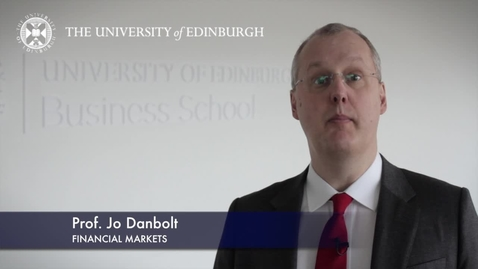 Thumbnail for entry Jo Danbolt -Financial Markets -Research In A Nutshell-Business School-24/01/2013