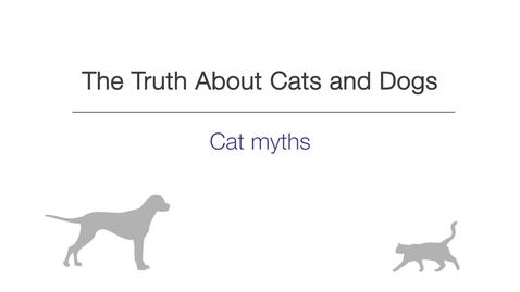 Thumbnail for entry Week 4 - Cat myths