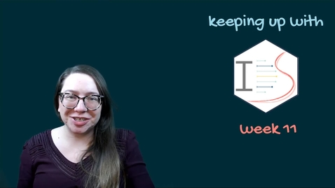 Thumbnail for entry IDS - Week 11 - 01 - Keeping up with IDS