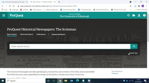 Thumbnail for entry The Scotsman Historical Archive