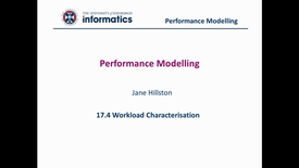 Thumbnail for entry 17.4 Workload Characterisation