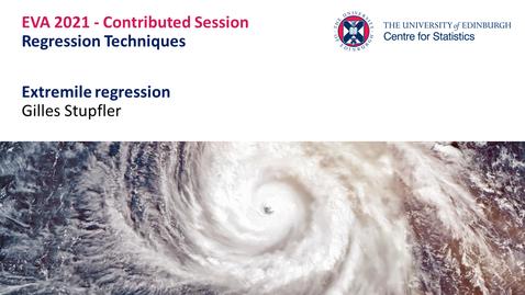 Thumbnail for entry Regression Techniques: Gilles Stupfler