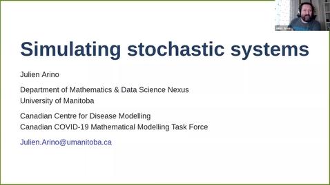 Thumbnail for entry UK-APASI in Mathematical Sciences: Julien Arino