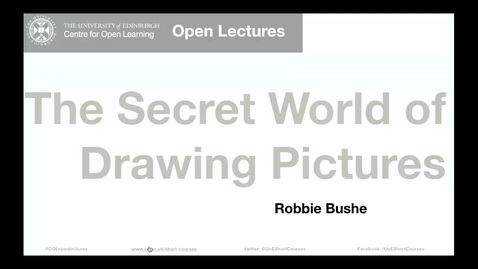 Thumbnail for entry The Secret World of Drawing Pictures