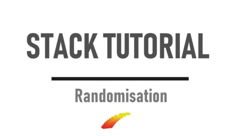 Thumbnail for entry Randomisation - STACK Tutorial