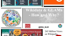 Thumbnail for entry Wikidata and GLAMs - Jason Evans, Wikimedian in Residence at the National Library of Wales