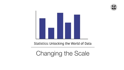 Thumbnail for entry Statistics - Changing the Scale