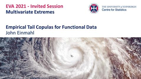 Thumbnail for entry Multivariate Extremes: John Einmahl