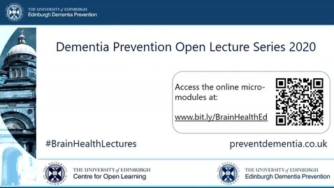 Thumbnail for entry 4. Dementia Prevention: a global approach 2020