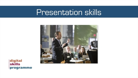 Thumbnail for entry Developing Your Data Skills Programme 2021-2022 - Workshop 3 - Presenting Your Data