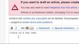 Thumbnail for entry How to edit Wikipedia using Visual Editor - Part 1: Creating Your Account & Enabling Visual Editor