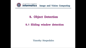 Thumbnail for entry 5.1 Sliding window detection