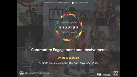 Thumbnail for entry RESPIRE Showcase: Best of Community Engagement and Involvement