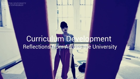 Thumbnail for entry Curriculum Development Reflections (Murray)