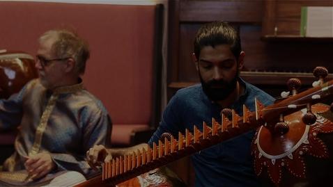 Thumbnail for entry The Sitar Project: Arfan Iqbal & Laurence Howells - Rag Miyan-ki-todi | St Cecilia's Hall | 22 October 2020