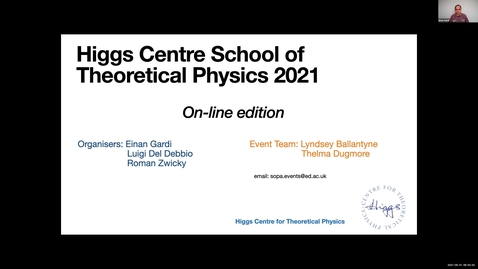 Thumbnail for entry Stefan Weinzierl Lecture 1