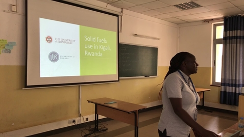Thumbnail for entry Solid Fuels use in Kigali -  Global Health Academy Summer School, Rwanda 2019