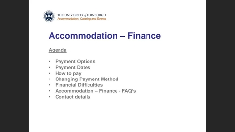 Thumbnail for entry (UG/PG) How-to pay your university accommodation fees (ACE)