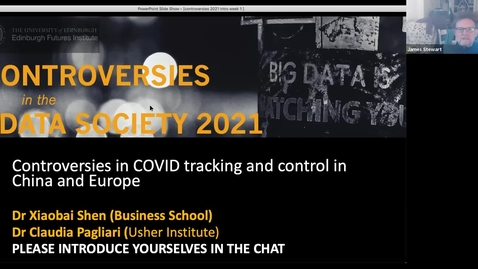 Thumbnail for entry Claudia Pagliari Controversies in Covid Apps