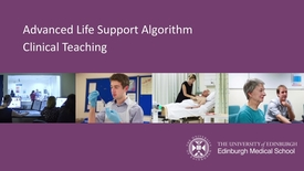 Thumbnail for entry Advanced Life Support Algorithm