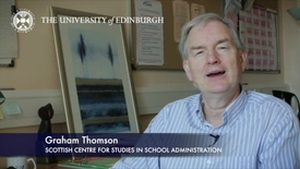Thumbnail for entry Graham Thompson-Scottish Centre for Studies in School Administration-Research In A Nutshell-The Moray House School of Education-12/07/2012