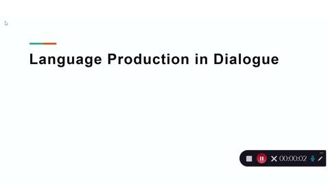 Thumbnail for entry Language Production Lecture 8 Part 23
