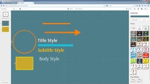 Thumbnail for entry Prezi Tutorial: Working with Themes in Prezi