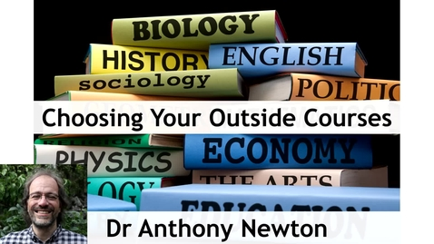 Thumbnail for entry Geography First Year Course Choices