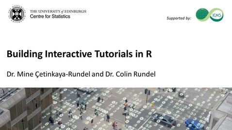 Thumbnail for entry Building Interactive Tutorials in R