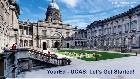 Thumbnail for entry Your Ed UCAS Session