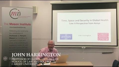 Thumbnail for entry MI Lunch with Professor John Harrington