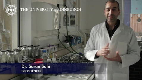 Thumbnail for entry Saran Sohi - Geoscience- Research In A Nutshell - School of GeoSciences -29/03/2013