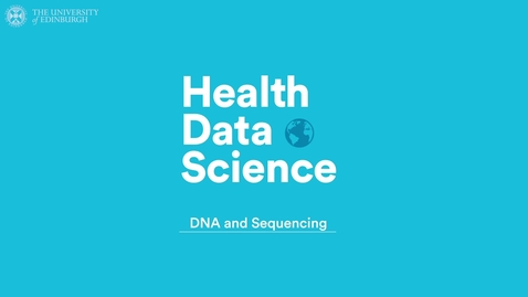 Thumbnail for entry DNA and Sequencing