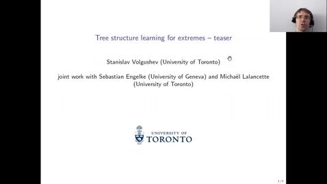 Thumbnail for entry Stanislav Volgushev EVA Talk Preview