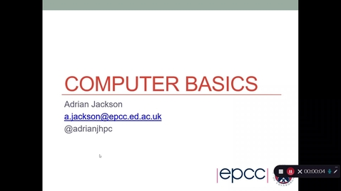Thumbnail for entry INFD11016 Week 7: Computer Basics