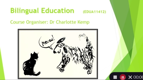 Thumbnail for entry Options Fair - Bilingual Education - November 3rd 2020, 12:20:15 am