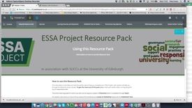 Thumbnail for entry Introduction to the ESSA Portfolio for student auditors
