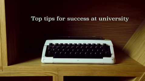 Thumbnail for entry Top Tip #7: Stephen