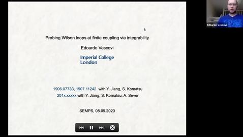 Thumbnail for entry South East Mathematical Physics Seminars: Edoardo Vescovi (Imperial College)