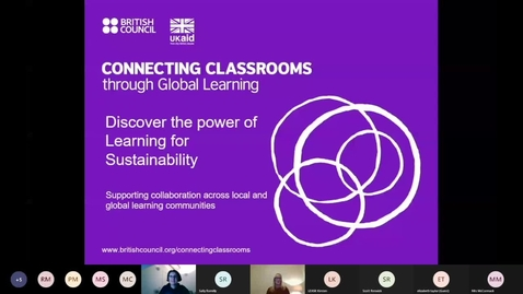 Thumbnail for entry Connecting Classrooms through Global Learning - introductory webinar 10 December 2020