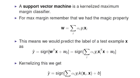 Thumbnail for entry Kernelised Max Margin