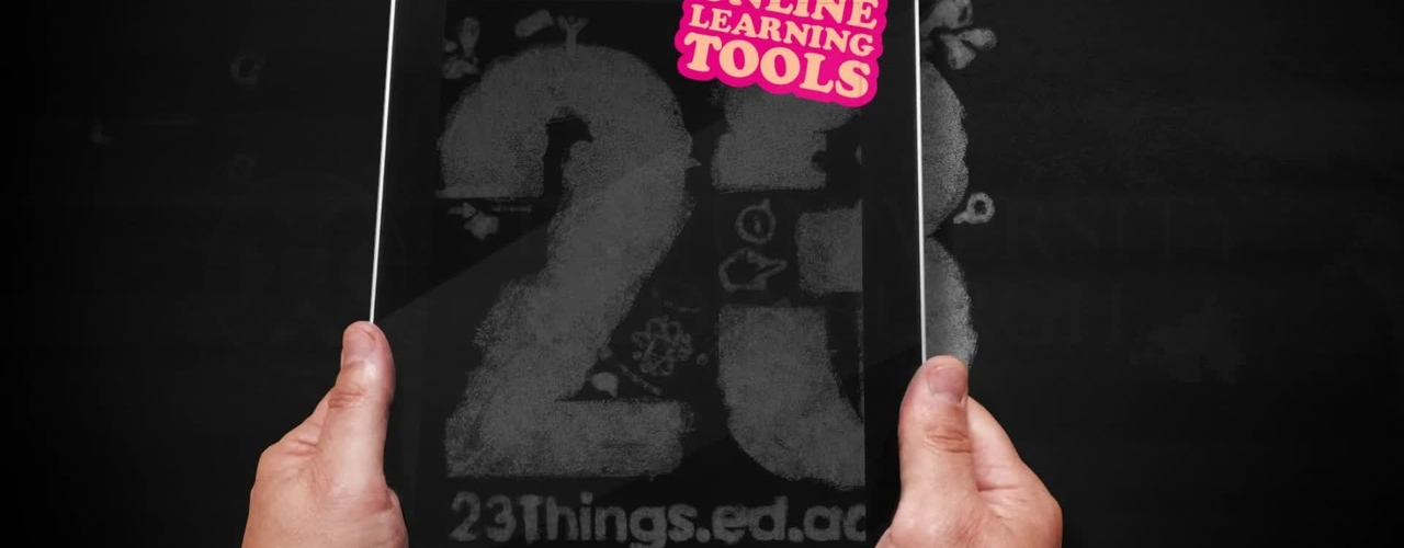 Introducing 23 Things. Expand your knowledge of the digital world.