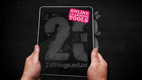Thumbnail for entry Introducing 23 Things. Expand your knowledge of the digital world.