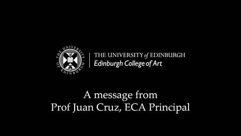 Thumbnail for entry Message from ECA Principal - 3 April 2020