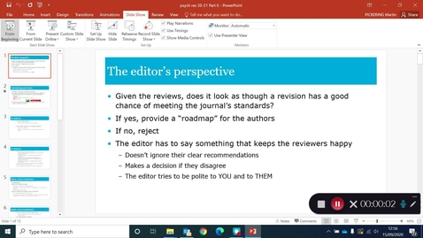Thumbnail for entry Proposing and publishing research Part 6