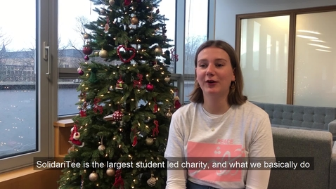 Thumbnail for entry SolidariTee: Translating for the largest student-run charity
