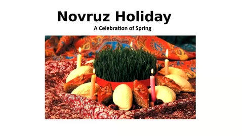 Thumbnail for entry Celebration of Novruz in Azerbaijan