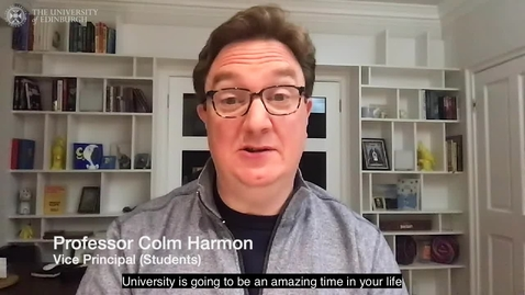 Thumbnail for entry Professor Colm Harmon - Life at Edinburgh
